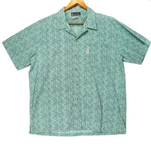 Columbia XCO Men's Blue Button Up Shirt